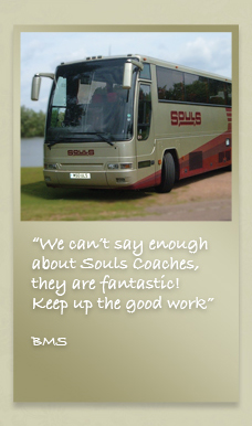 Souls' Coaches Logo